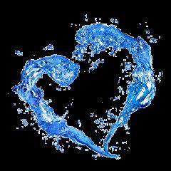 water agua watersplash heart corazón