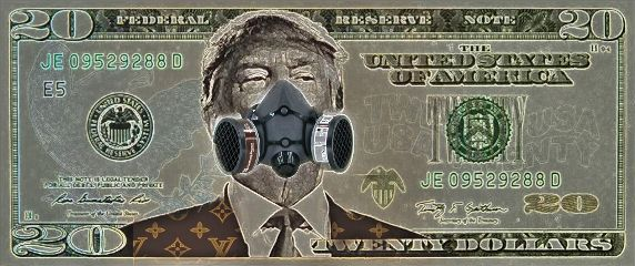 dollar trump mask