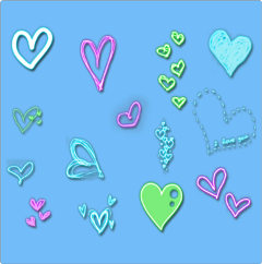 ftestickers background shapes hearts freetoedit