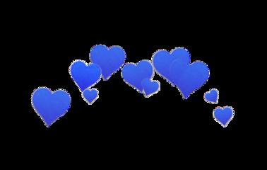 crown heart heartcrown blue purple