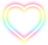 rainbow heart love freetoedit