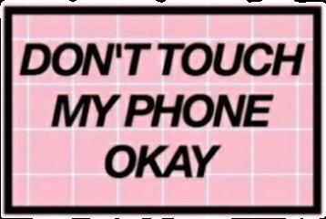 don'ttouchmyphone grunge pink tumblr freetoedit