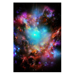 galaxy stars effect colors background