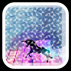 freetoedit unicorn purple border