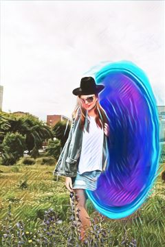freetoedit portal girl skirt hat