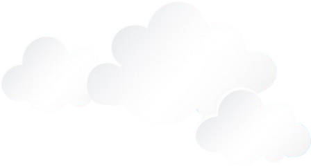 ftestickers clouds white sky cloud