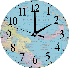 clock map freetoedit