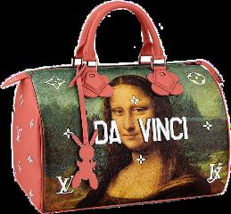 ftestickers freetoedit bag louisvuitton davinchi