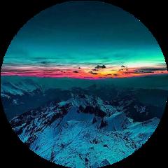 circle aesthetic aestheticcircle sunset sunrise freetoedit