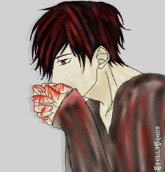 nerinhoyutama vampire blood animeboy paint