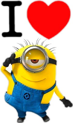 minions love iloveyou ftestickers stickers