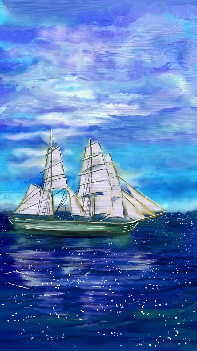 #mydrawing #sea #beach #boat doing a simple drawing for a change! Painted this for my mom, she wanted a simple painting for her hall!!