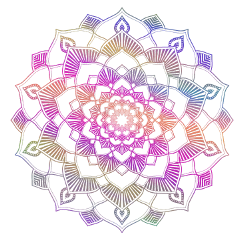 mandala stickers colour logo freetoedit