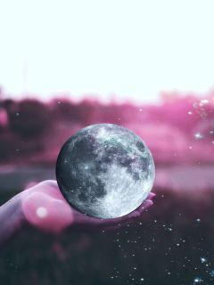 freetoedit moon light stars space