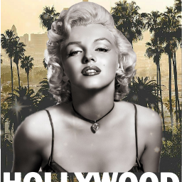 ftehollywood marilynmonroe palmtrees hollywood love