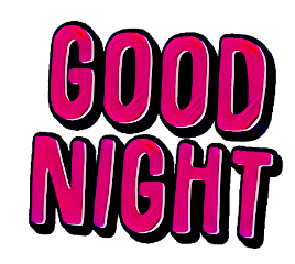 words sayings quotes sticker goodnight