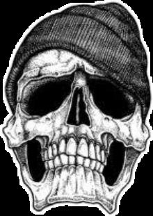 skulls skullart skullface emotions blackandwhite