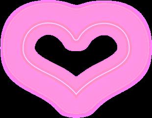 heart pink lovely tumblr kawaii