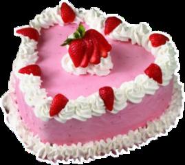 strawberry strawberrycake cake pink pinkcake