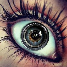 eye photography pupil lens camera freetoedit