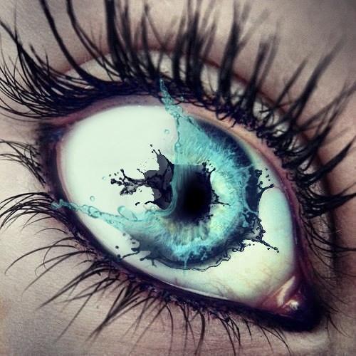 #eye #watersplash #papowertools   Inspired by @matteobeggi