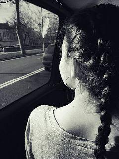 blackandwhite cars trip travel hairstyle freetoedit