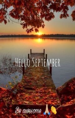 september be awesome