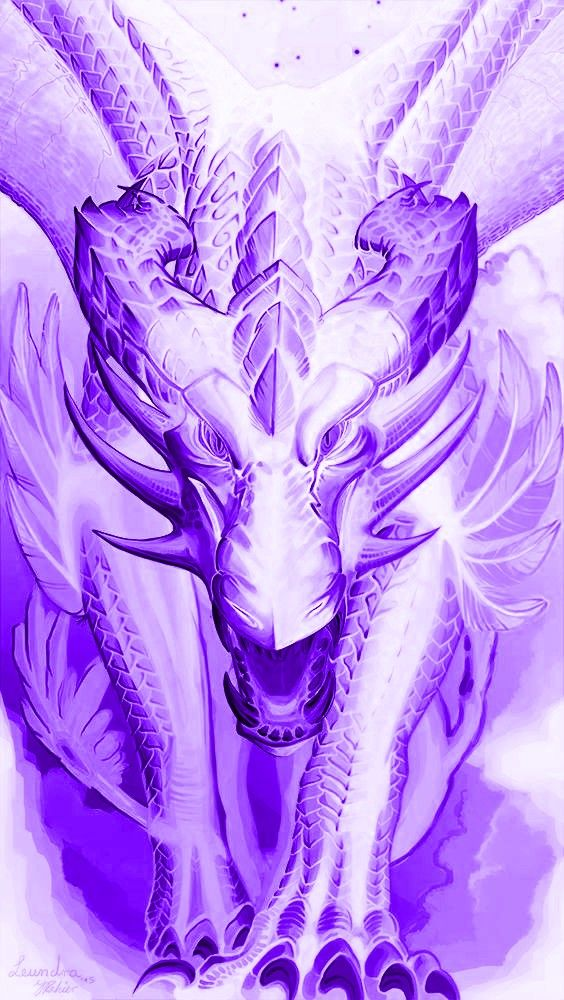 #dragon #neon #white #purple #cool #awesome #background #wallpaper
