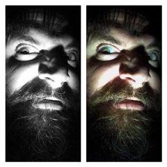 portrait photography collage horror blackandwhite freetoedit
