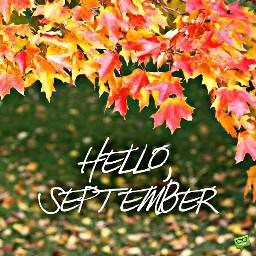 freetoedit september september2017 helloseptember hellofall