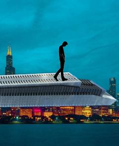 freetoedit skyscraper men walk town
