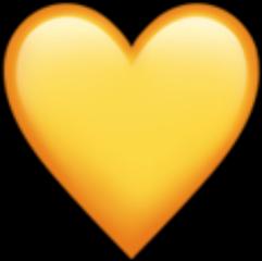 heart yellow freetoedit
