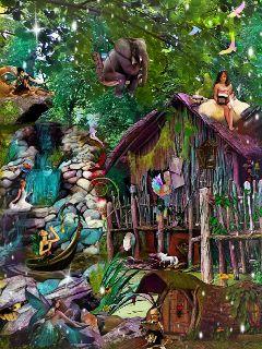 freetoedit fairies whimsy whimsical calm