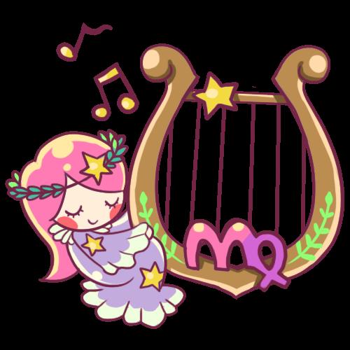 #星座 #處女座 #乙女 #cute #star #virgo #music #colorful  #constellation #watercolor #handpainted #colorsplash