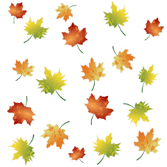 ftestickers leaf leaves brown red