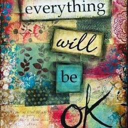 freetoedit quotes everythingwillbeokay colorful colors