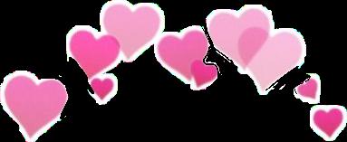 sticker crown heart heartcrown hearts