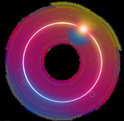 circle glow lighteffect ftestickers freetoedit