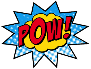 freetoedit comic icon pow