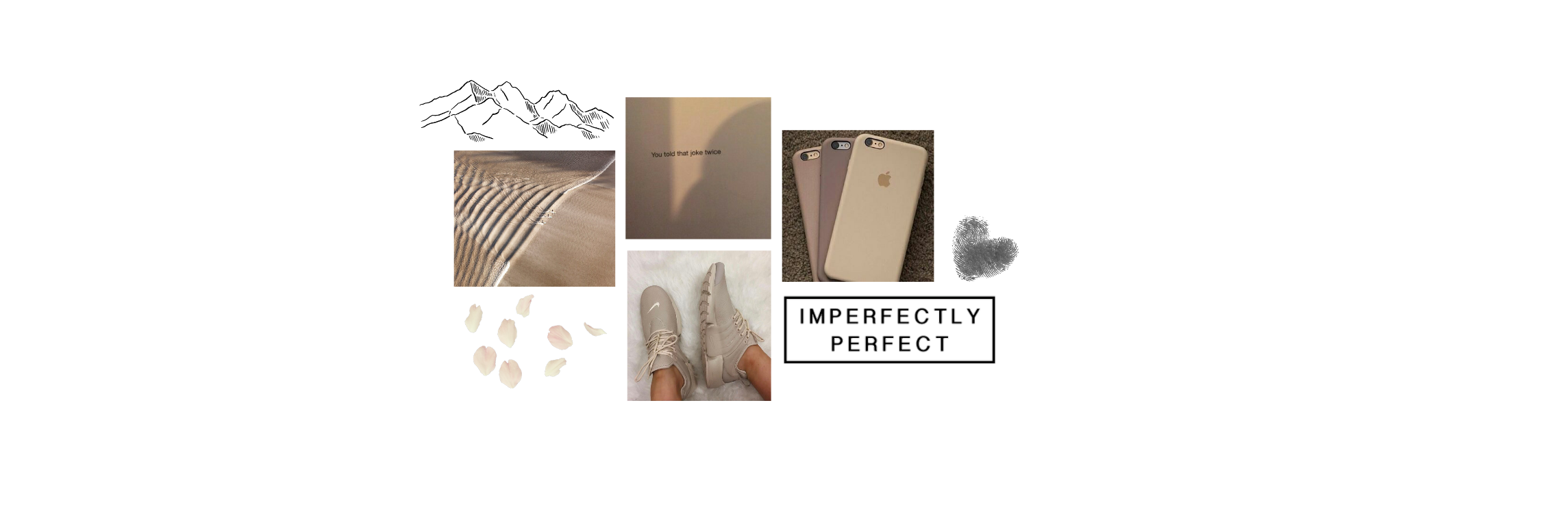 Beige Aesthetic Header Image By Rebecca