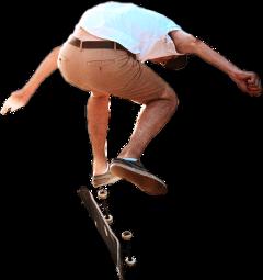 ftestickers boy skateboard jump freetoedit