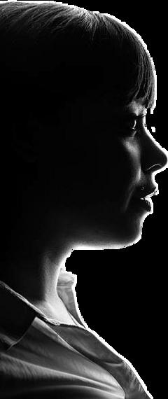 ftestickers woman silhouette freetoedit