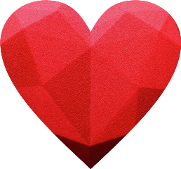 freetoedit heart red