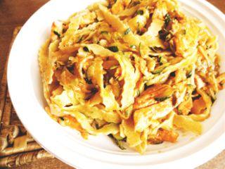 fettuccine pasta salmone zucchine food