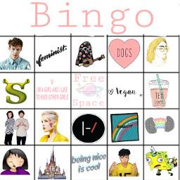 freetoedit bingo me aesthetic troyesivan