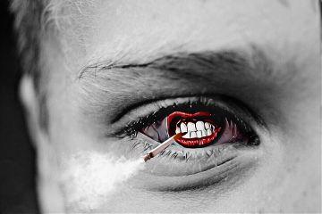 freetoedit eye bnw mouth remixed