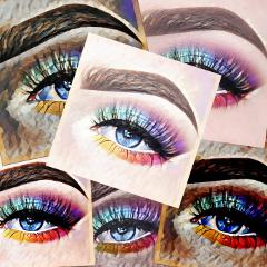 freetoedit eyes eyeshadow geodemagiceffect