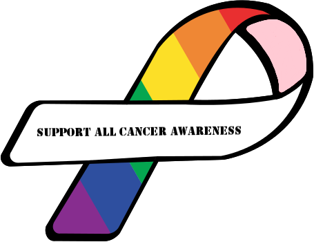 #colorful #rainbow #cancer #support #love #message #lovewins #ribbon