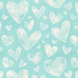 freetoedit teal whitehearts background