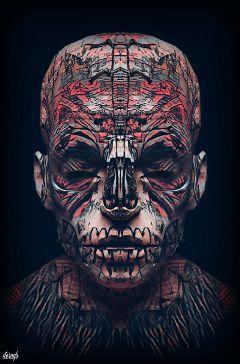 dark voodoo popart original